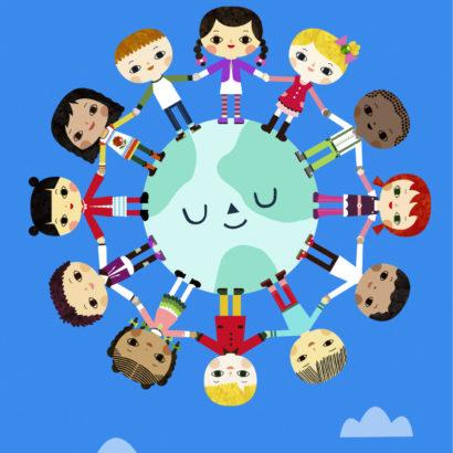 Unicef - Children Around the World Birthday Card