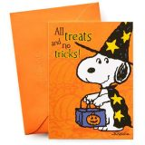 Halloween Snoopy Card