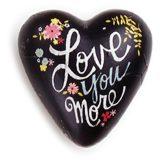 Love You More Art Heart Token