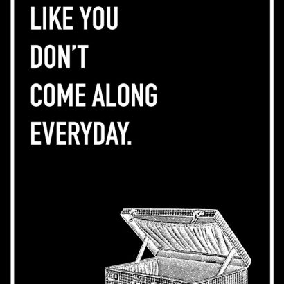 Friends Like You Shoebox Card