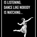 Sing Like Nobody is Listening Shoebox Card