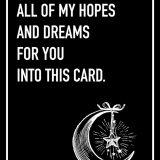 Hopes and Dreams Shoebox Card