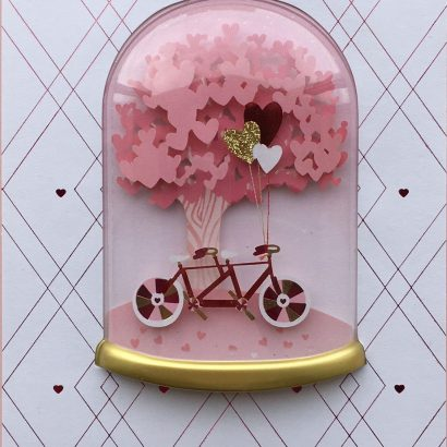 Valentine's Day Card-Bike