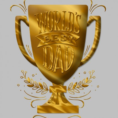 Hallmark Signature - Trophy Father's Day Card
