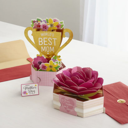 Greetings - Wonderfolds - MD - Best Mom and Rose