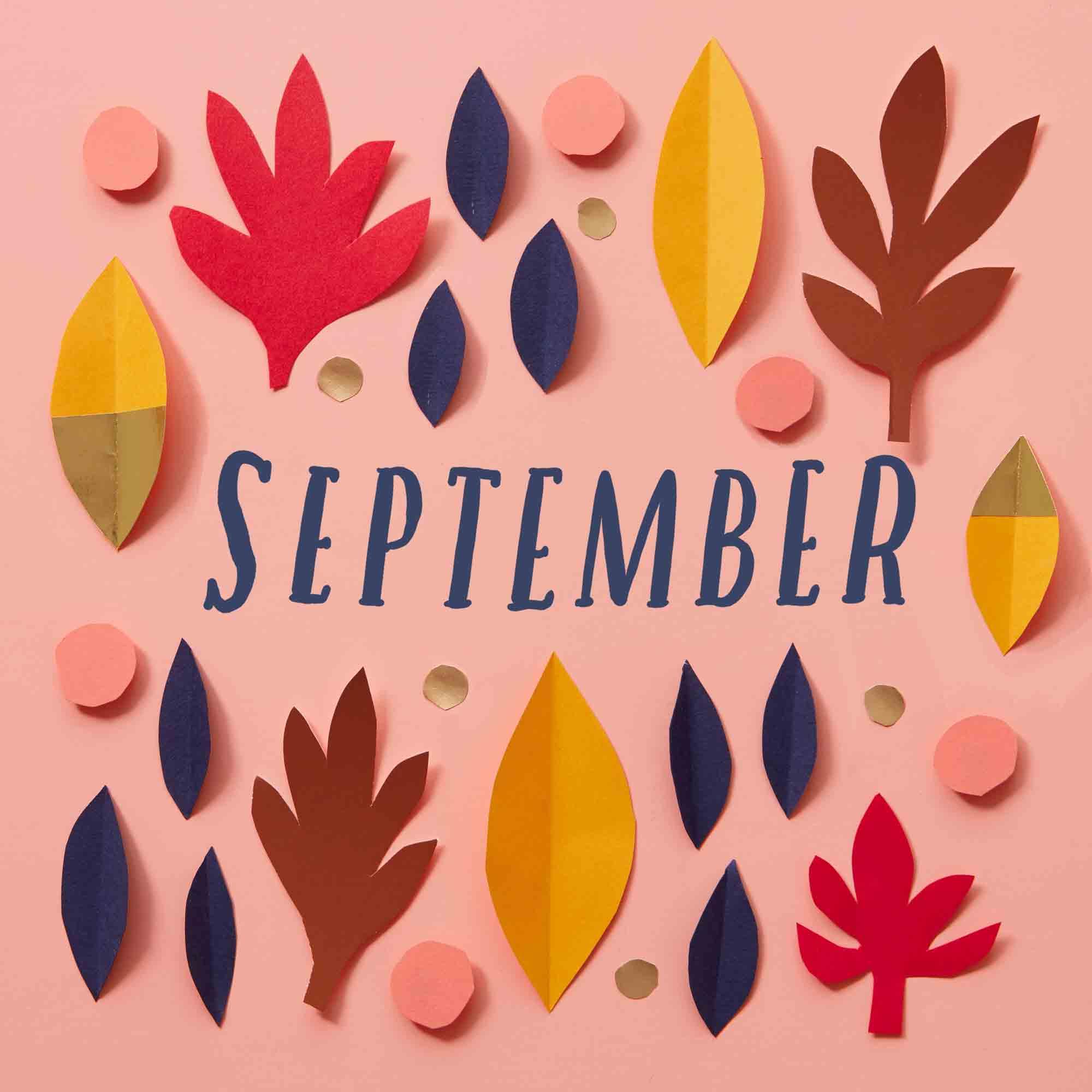 Calendar Flip - September