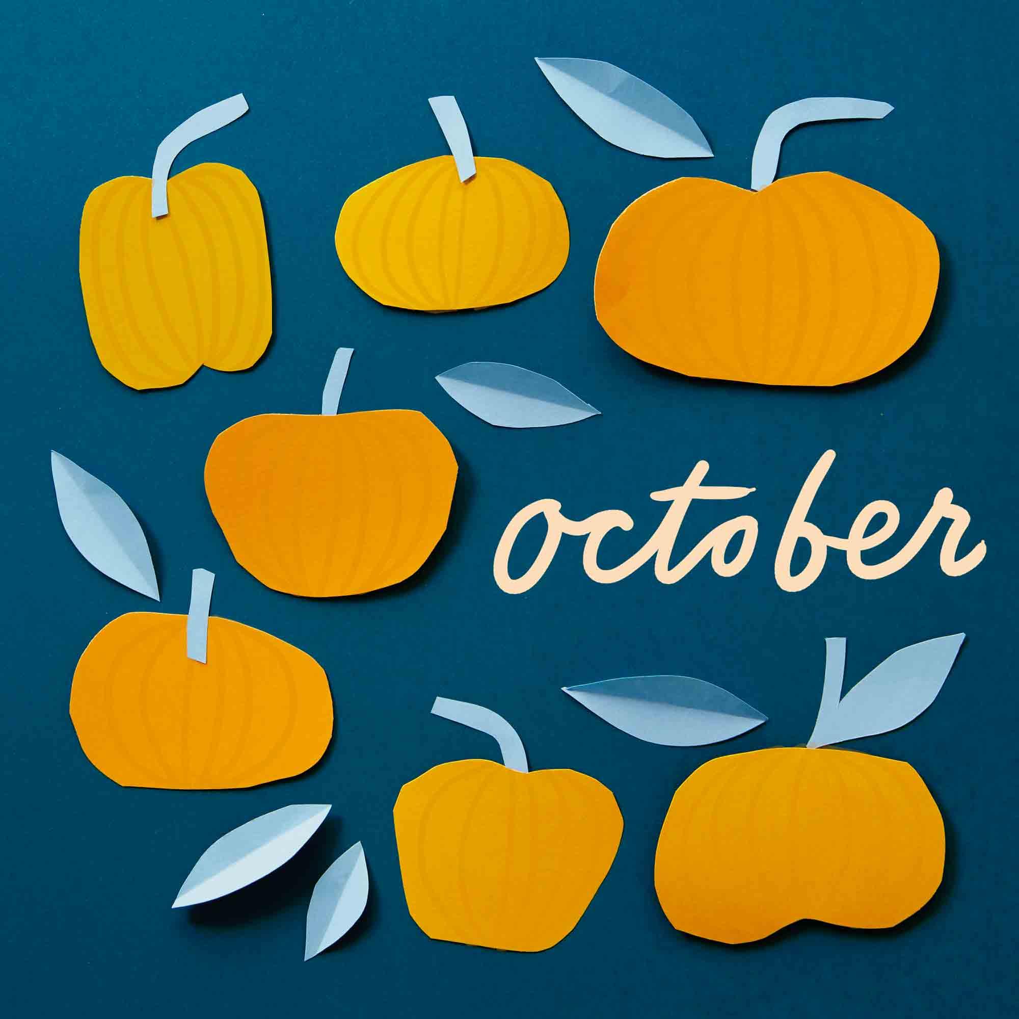 Calendar Flip - October