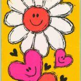 1968 Valentine's Day Card says Laughing Lovingly