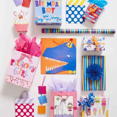 Hallmark Gift Wrap - Kids Collection Bags, Tags, and Gift Wrap