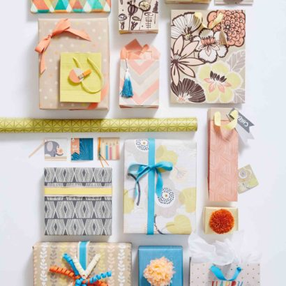 Hallmark Gift Wrap - Eclectic Kraft Collection Bags, Tags, and Gift Wraps