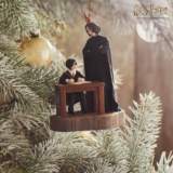 Harry Potter First Impressions Ornament with Harry and Snape