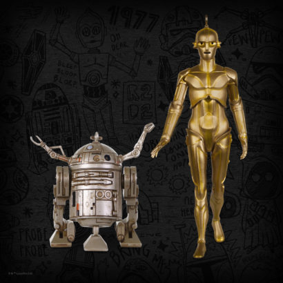 Beginnings: C-3PO™ and R2-D2™ Keepsake Ornament 2-pack