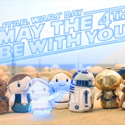 Star Wars Day May the 4th Be With You Itty Bittys