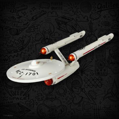 Star Trek 2019 Convention Exclusive NCC-1701 Enterprise Ornament