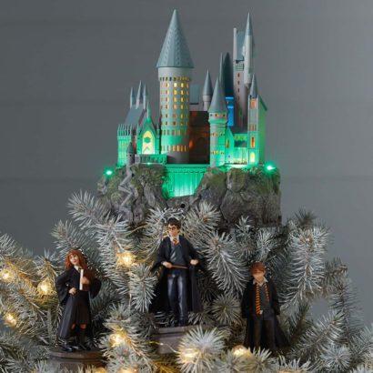 Harry Potter Hogwarts Musical Lighted Tree Topper