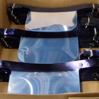 Hallmark Produced Face Shields