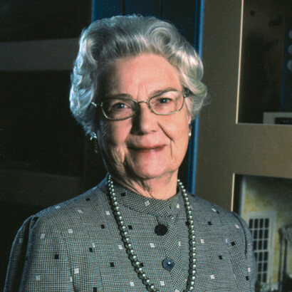Portrait of Barbara Marshall