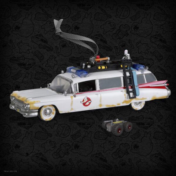 Ghostbusters Ecto-1 and RTV Hallmark Keepsake Ornament - Con Exclusive