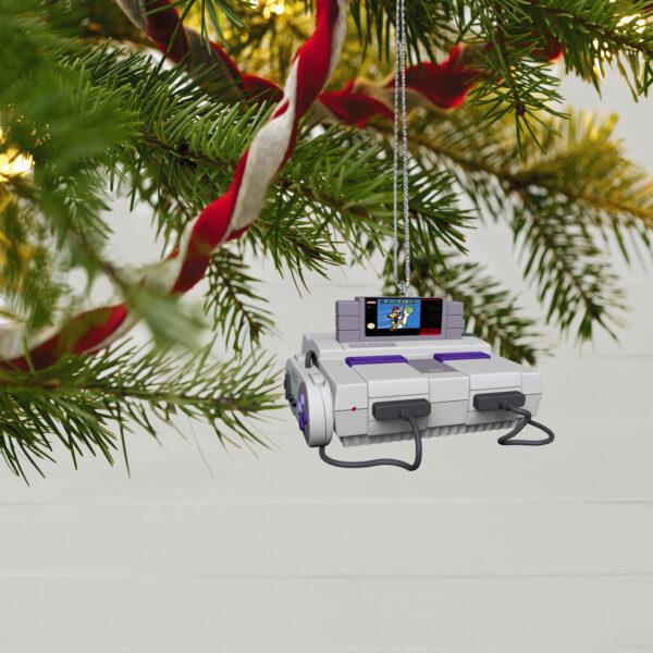 Hallmark Keepsake Ornaments - Super Nintendo Entertainment System™ Console Ornament with Light and Sound