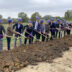 Groundbreaking of the expansion of Hallmark's Liberty Distribution Center
